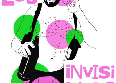 Festival Les invisibles, Izhar Gomez, Ushuaia, ilustración