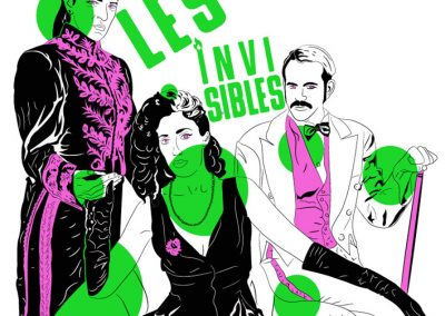 Festival Les invisibles, Izhar Gomez, Ushuaia, ilustración, Paula Maffia and sons